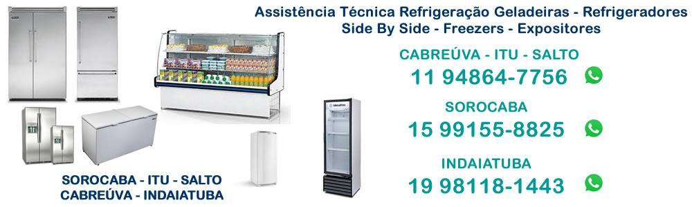 Assistência técnica geladeira Indaiatuba